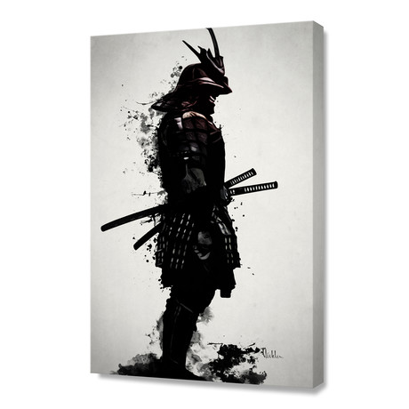 Armored Samurai // Stretched Canvas