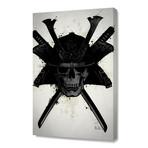 "Samurai Skull // Stretched Canvas (16""W x 24""H x 1.5""D)"