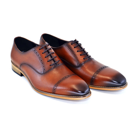 Cap Toe Lace Up // Tobacco (US: 7)