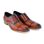 Cap Toe Lace Up // Tobacco (US: 10)