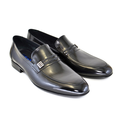 Soft Loafer + Ornament // Black (US: 7)