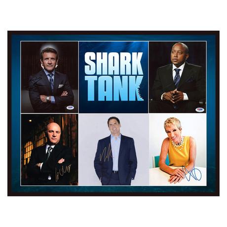Signed + Framed Collage // Shark Tank