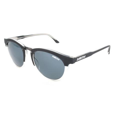 Unisex Questa Polarized Sunglasses // Matte Black Crystal
