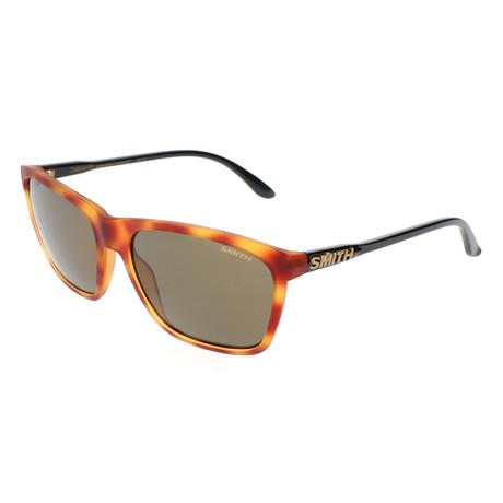 Smith // Men's Delano PK Polarized Sunglasses // Light Havana