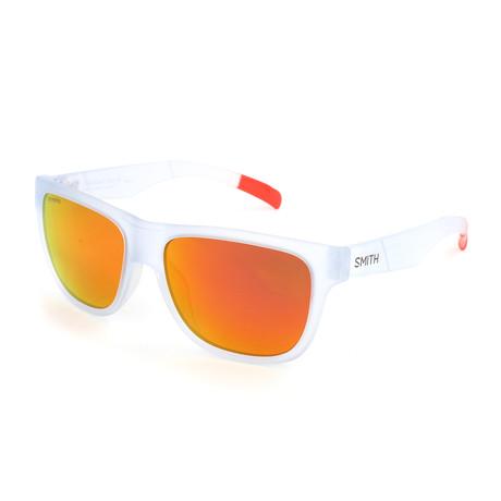 Smith // Lowdown Slim Sunglasses // Crystal Red