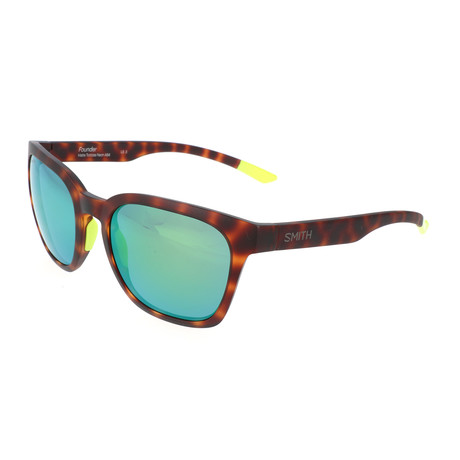 Smith // Unisex Founder Polarized Sunglasses // Havana Yellow