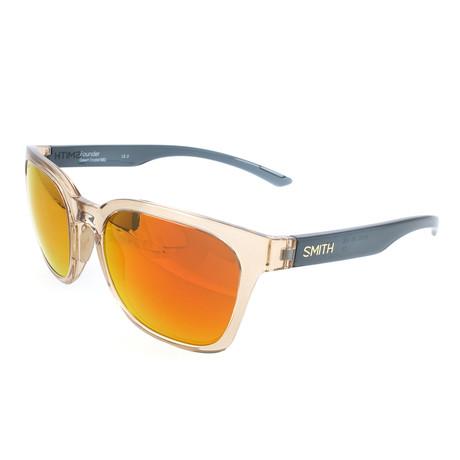 Smith // Unisex Founder Sunglasses // Beige + Gray