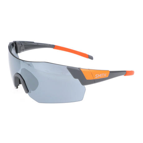 Unisex Pivlock Arena Max Sunglasses // Gray + Orange