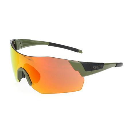 Unisex Pivlock Arena Max Sunglasses // Green + Black