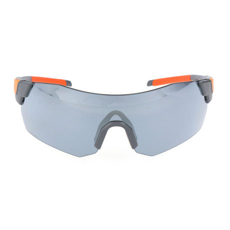 Unisex Pivlock Arena Max Sunglasses // Grey Orange