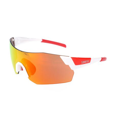 Unisex Pivlock Arena Max Sunglasses // White