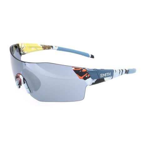Smith // Unisex Pivlock Arena Sunglasses // Pewter Blue