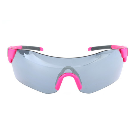 Unisex Pivlock Arena Sunglasses // Pink Fluorescent