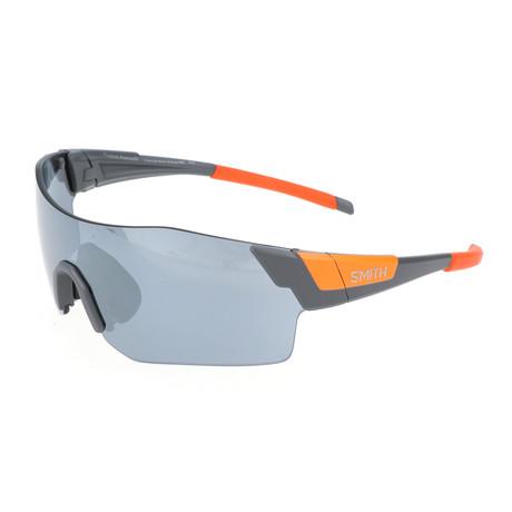 Smith // Unisex Pivlock Arena Sunglasses // Gray + Orange