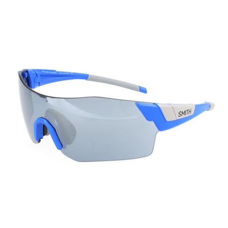 Unisex Pivlock Arena Sunglasses // Blue