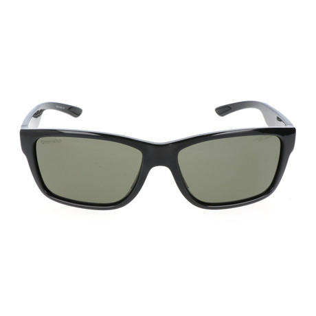 Unisex Wolcott Sunglasses // Shiny Black