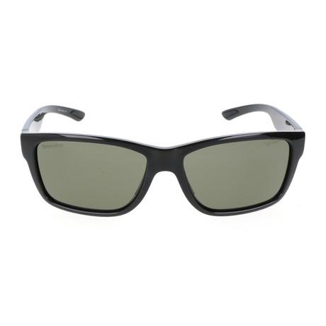 Unisex Wolcott Sunglasses // Shiny Black