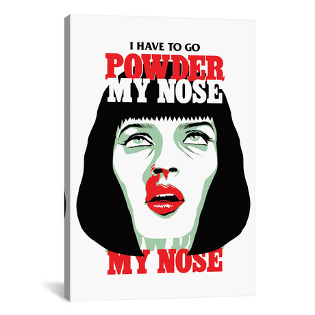 "PowderMyNose (26""W x 18""H x 0.75""D)"