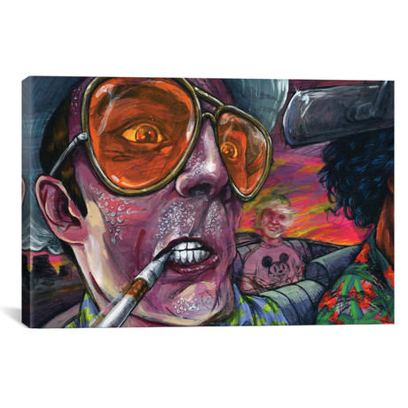 "Fear n' Loathing (26""W x 18""H x 0.75""D)"