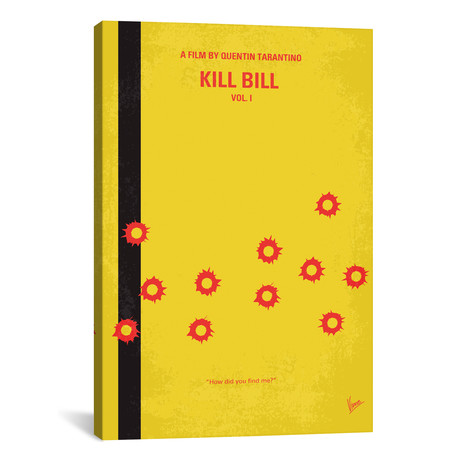 "Kill Bill Vol. 1 (18""W x 26""H x 0.75""D)"
