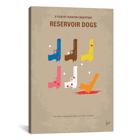 "Reservoir Dogs (18""W x 26""H x 0.75""D)"