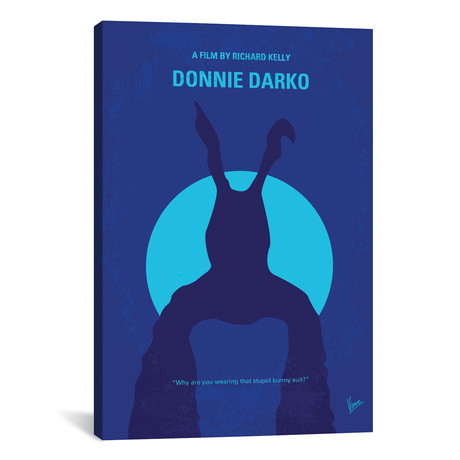 "Donnie Darko // Minimal Movie Poster // Chungkong (26""W x 18""H x 0.75""D)"