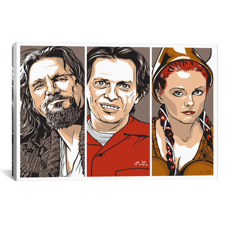 "The Dude, Donny & Maude (26""W x 18""H x 0.75""D)"