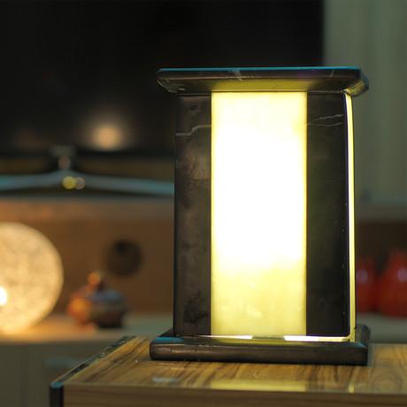 Black Console Lamp
