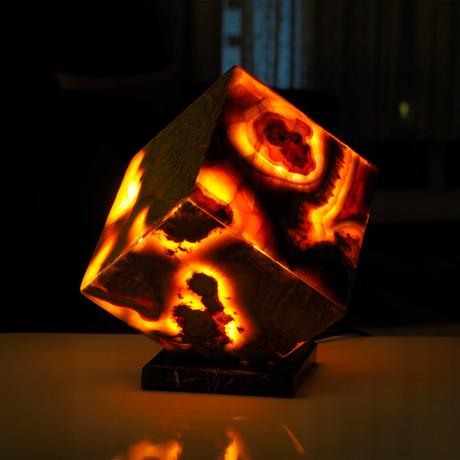 Red Volcanic Lamp // 1