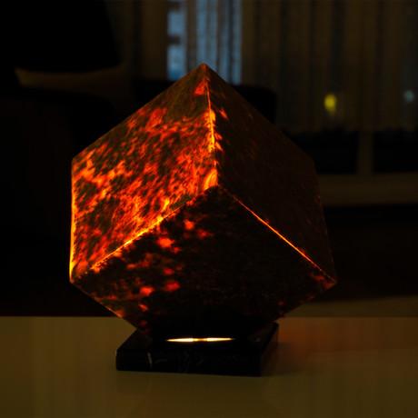 Red Volcanic Lamp // 2