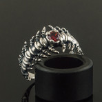 Bone Ring + Cubic Zirconia (13)