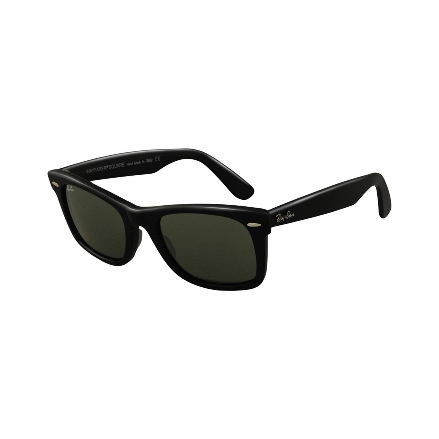 4343f9d9fc2 Ray-Ban    Square Wayfarer    Black + Green - Ray-Ban® - Touch of Modern