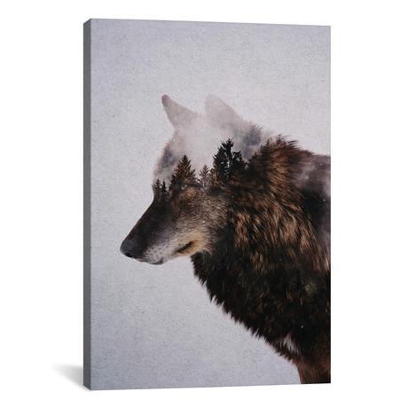 """Wolf IX (26""""W x 18""""H x 0.75""""D)"""