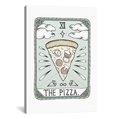 """The Pizza // Barlena (26""""W x 18""""H x 0.75""""D)"""