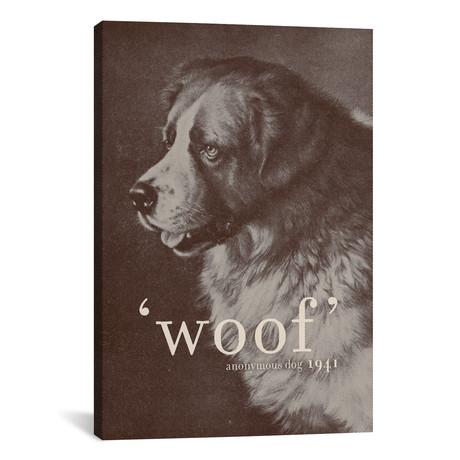 """Famous Quotes (Dog) // Florent Bodart (26""""W x 18""""H x 0.75""""D)"""