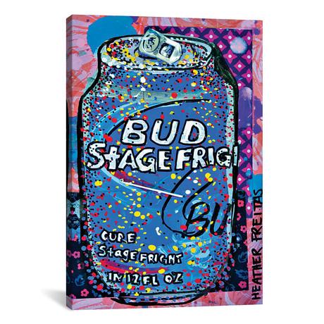 """Bud Stage Fright // Heather Freitas (26""""W x 18""""H x 0.75""""D)"""