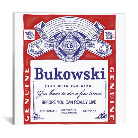 "Bukowski // Mathiole (18""W x 18""H x 0.75""D)"