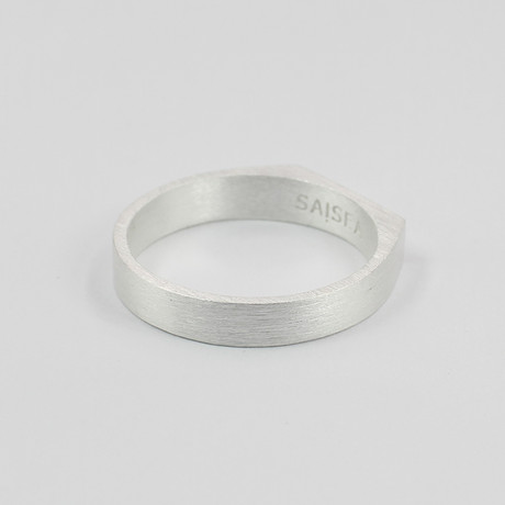 Signet Ring // Silver (Size 5)