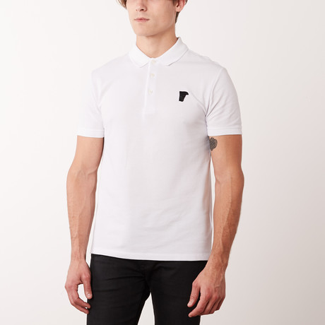 Mini Logo Polo Shirt // White (S)