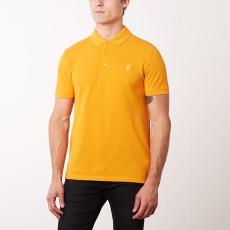 Mini Logo Polo Shirt // Zucca (S)