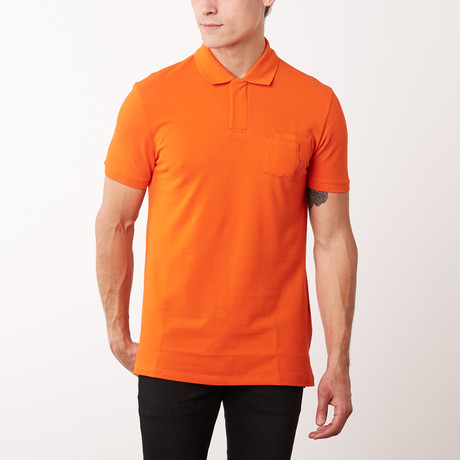 Pocket Polo Shirt // Coral (S)