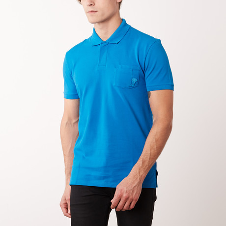 Pocket Polo Shirt // Surf (S)