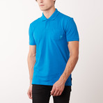 Pocket Polo Shirt // Surf (M)