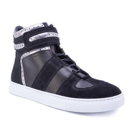 Belmondo High-Top Sneaker // Black (US: 8)