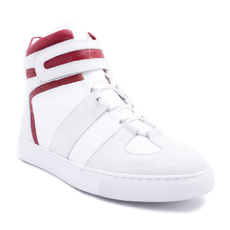 Belmondo High-Top Sneaker // White (US: 8)