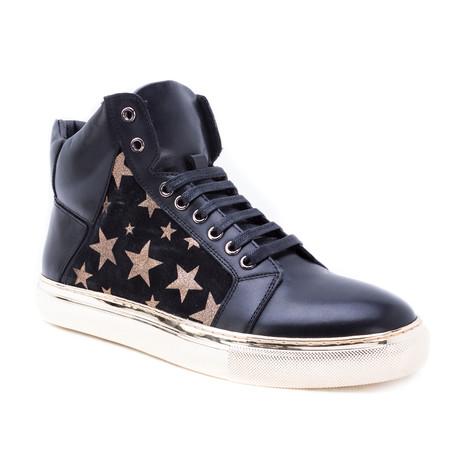 Garner High-Top Sneaker // Gold (US: 8)