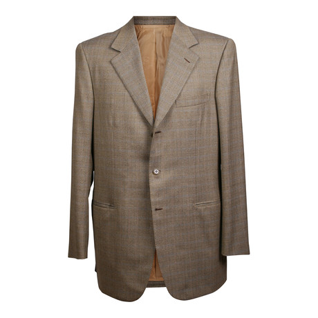 Rolling 3 Button Fishbone Blazer // Gray (US: 36S)