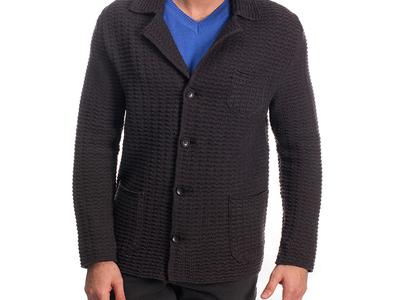 Photo of CLEARANCE: Outerwear We've Got You Covered Button Jacket // Brown (M) by Touch Of Modern
