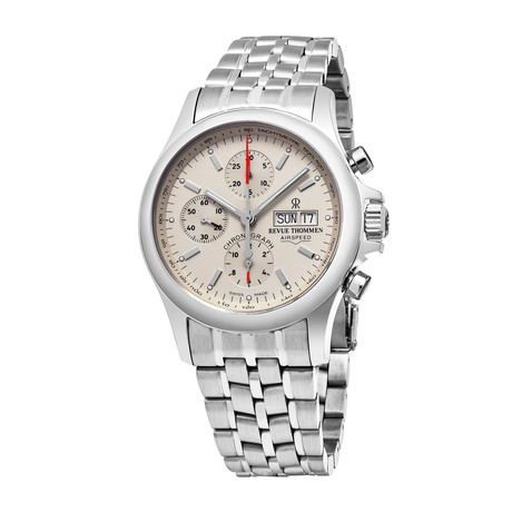 Revue Thommen Airspeed Chronograph Automatic // 17081.6132 // Store Display
