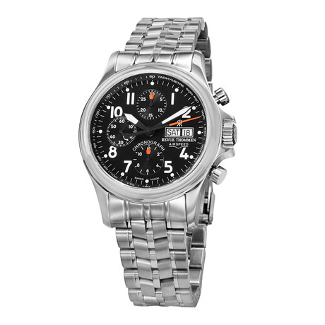 Revue Thommen Airspeed Chronograph Automatic // 17081.6137 // Store Display